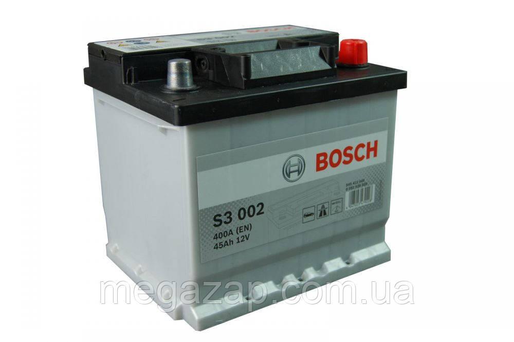Аккумуляторная батарея S3 ПРАВ [+] 12V 45AH 400A BOSCH 0092S30020