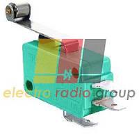 Мікроперемикач з роликом MSW-03 ON-(ON), 3pin, 10A, 125/250VAC
