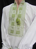 Мужская вышиванка с длинным рукавом
