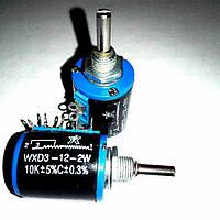 Резистор многооборотный WXD3-12-10K переменное сопротивление
