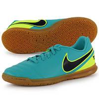 Детские футбольные футзалки Nike Tiempo Rio III IC Jr 819196-307