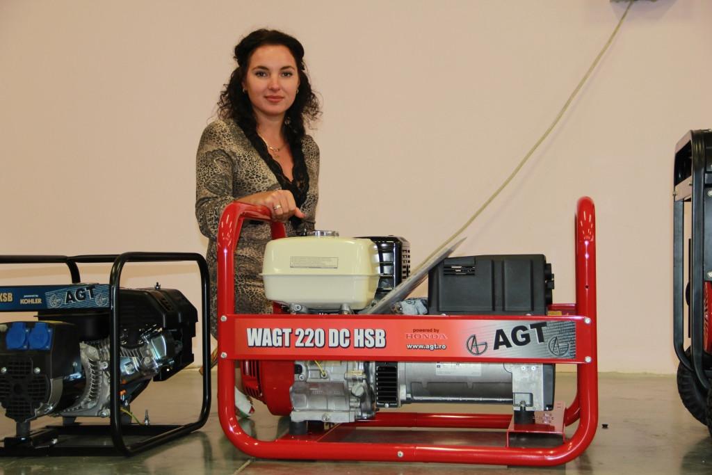 Бензиновый генератор AGT 8503 HSB (PFAGT8503HNXC/E)