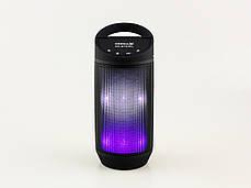 Светодиодная портативная колонка Neeka NK-BT809L Bluetooth, фото 3