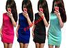 Модное трикотажное платье футляр Baby 5 цветов