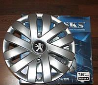 Колпаки на колеса SKS R16 Peugeot - модель 409, купить комплект 2014 года