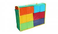 Детский игровой набор цветных кубиков