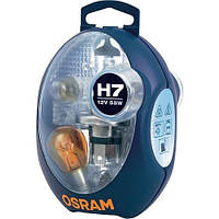 Комплект запасных автоламп Osram CLKM H7