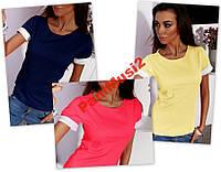Майка футболка реглан туника блузка рубашка №46, фото 1