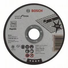 Bosch Круг  вiдрiзний, Expert for Metal, прямий, 125Х1.6 мм.