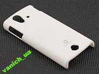 Пластик чехол Sony Ericsson Ray ST18i