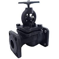 Клапан запорный чугунный 15кч16п1 Ду50