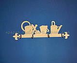 Заготовка панно (ключница) с лейками для декупажа и декора , фото 4