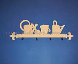 Заготовка панно (ключница) с лейками для декупажа и декора , фото 5