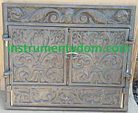 Камин чугунный закрытый с дверками (Румыния)