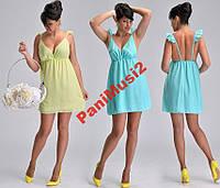 Модное шифоновое платье туника сарафан НН728