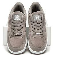 Женские серые легендарные кроссовки Nike Air Force 1 Low, Найк Аир Форс копия 36 Rapter