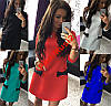 Стильное платье Кокетка Бантики Дайвинг №16