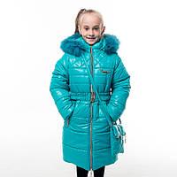 """Зимнее пальто для девочки """"Сьюзи"""", от производителя оптом и в розницу"""