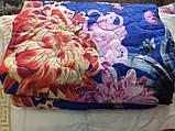 Одеяло из овечьей шерсти евро размера, фото 5