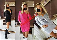 Платье туника футляр карандаш с карманами №163, фото 1