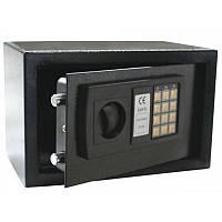 Кодовый офисный электронный сейф Арсенал 20Е, дверь 3 мм, черный