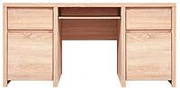 Каспиан стол письменный BIU 2D2S (Gerbor/Гербор) дуб сонома