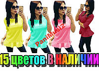 Майка футболка реглан туника блузка Кокетка №46, фото 1