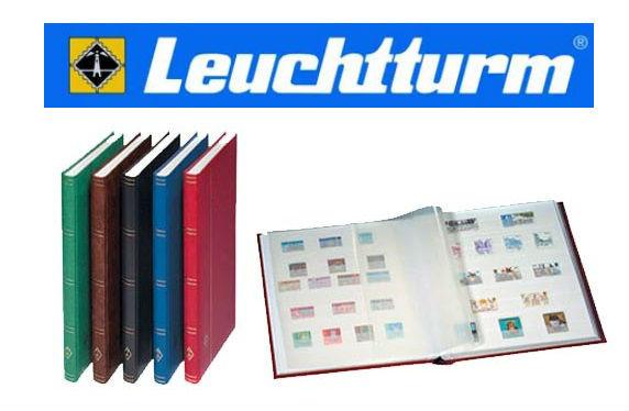 Альбом/Кляссер 8 листов (16стр) А4 Белые листы Leuchtturm