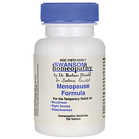 Гомеопатия при климаксе и менопаузе Swanson 100 таблеток