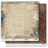 """Бумага от ScrapBerry""""s, Архив - Бродвейские афиши, 30,5x30,5 см, 1 шт"""