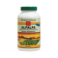 Люцерна Alfalfa, онкопротектор, 550 мг 500 таблеток