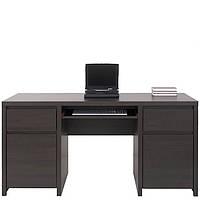 Каспиан стол письменный BIU 2D2S (Gerbor/Гербор) дуб венге