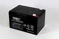 Аккумулятор BATTERY 12V 12A UKC, аккумуляторная батарея, герметичный кислотно-свинцовый аккумулятор