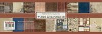 """Набор бумаги от ScrapBerry""""s - Архив, 30,5x30,5 см, 9 листов"""
