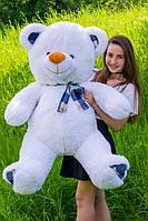 Белый мишка с бантом - Мишка Потап 140 см