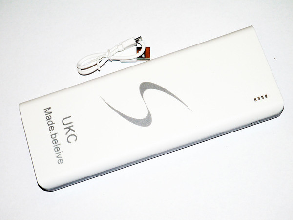 Зарядная батарея Power Bank UKC 40000 mAh 3 USB, фото 1