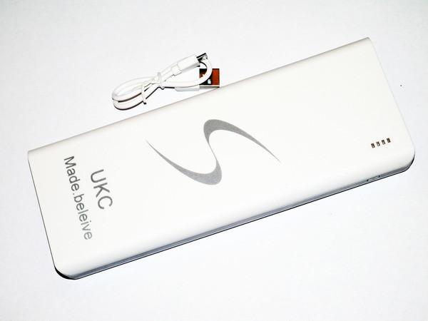 Зарядная батарея Power Bank UKC 40000 mAh 3 USB