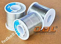 Припой DBL  0,6mm с флюсом 2% 1 метр