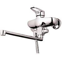 Смеситель для ванны с длинным изливом Z63-FGB-A185