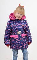 Весенняя куртка на девочку Алинка luxik по низким ценам в Украине