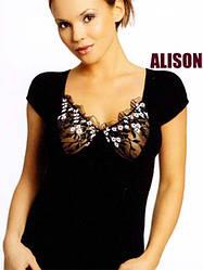 """Женская трикотажная футболка """"Alison"""""""