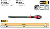 Напилок слюсарний напівкруглий l=200 мм VOREL-25161