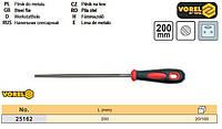 напильник слесарный Польша круглый l=200 мм VOREL-25162