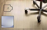 Защитный коврик PC, для гладкой поверхности, 2,0мм, 120 x 150 см *