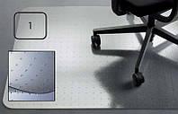 Защитный коврик PC, для ковровых покрытий, 2,3мм, 121 x 121 см *