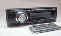 "АвтоМагнитола ""Pioneer"" FM, SD, USB, AUX разьёмом + Пульт ДУ"