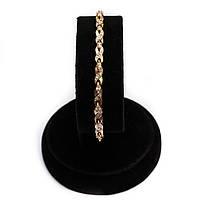 Золотой браслет с цирконием р18
