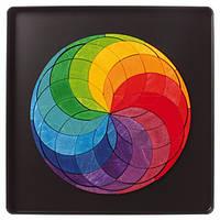 Grimm`s Мозаика магнитная Grimm`s Разноцветная спираль мини, 72 шт.