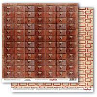 Бумага для скрапбукинга Архив Библиотека Scrapberry's, 1 шт