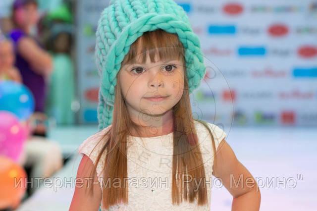 Показ шапок из толстой пряжи Runo Merino совместно с детским магазином DAGA
